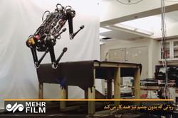 فلم/ آنکھ کے بغیر کام کرنے والا روبوٹ