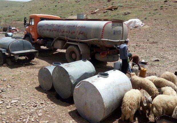 عشایر ساکن در شهرستان اردل با کمبود آب شرب مواجه شدند