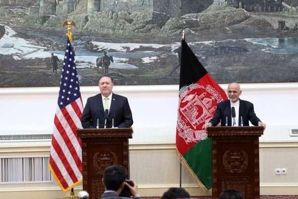 امریکی وزیر خارجہ کی افغان صدر سے ٹیلیفون پر گفتگو