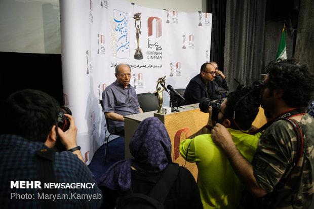 """المؤتمر الصحفي الخاص بـ""""الحفل الوطني للسينما الايرانية"""""""