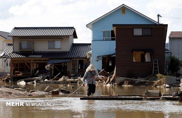 ارتفاع عدد ضحايا الأمطار الغزيرة والسيول في اليابان إلى 176 قتيلا