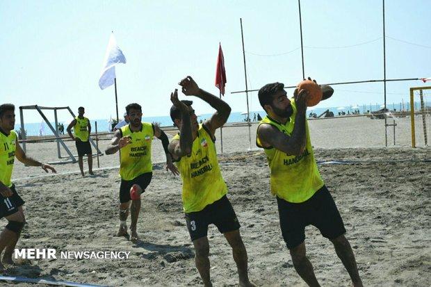 اردوي تيم ملي هندبال ساحلي ايران در آستارا