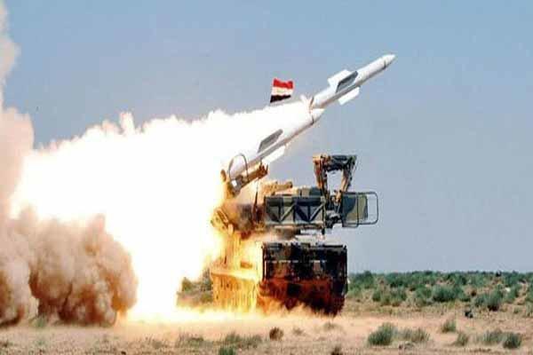پدافند سوریه چند پهپاد گروه های تروریستی را سرنگون کرد