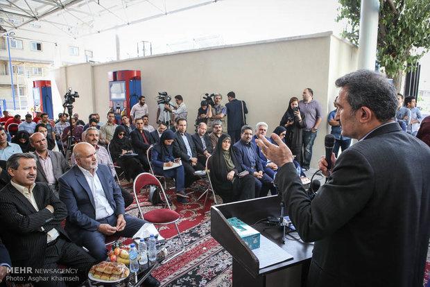 رونمايي از نخستين کارتخوانهاي هوشمند جايگاههاي سوخت تهران