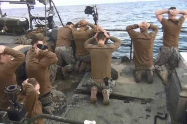 احتجاز البحارة الامريكيين عام 2016