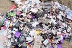 کشف ۱۰ میلیاردی لوازم آرایشی و بهداشتی تاریخ مصرف گذشته