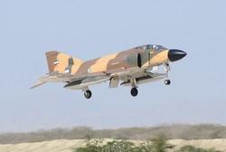 یک فروند جنگنده نیروی هوایی ارتش دچار سانحه شد