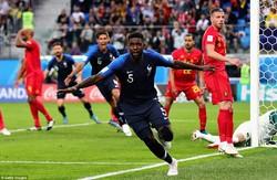دیدار تیم های ملی فوتبال فرانسه و بلژیک