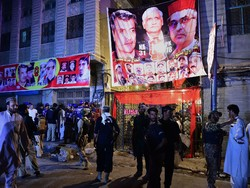 Fotoğraf: Pakistan'da mitinge canlı bombalı saldırı