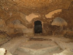 مرمت حمام تاریخی روستای سیاهورد طارم
