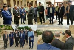 معاون رئیس جمهور از قلعه تاریخی «فلک الافلاک» لرستان بازدید کرد