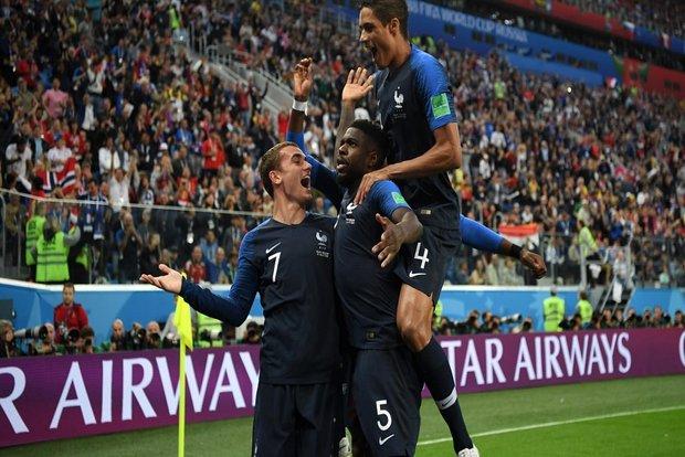 فرانسه فینالیست جام بیست و یکم شد/ پدیده مقابل خروسها کم آورد