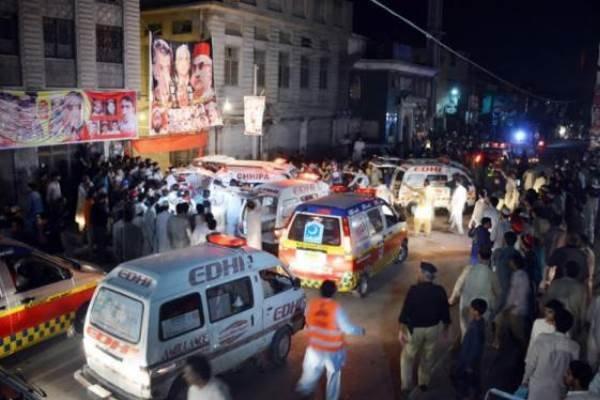 پاکستان کے شہر پشاور میں دھماکے سے 5 افراد زخمی