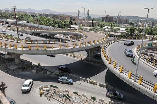 پل شهید قاسم سلیمانی در اردبیل با ۴۰ درصد پیشرفت در حال اجراست