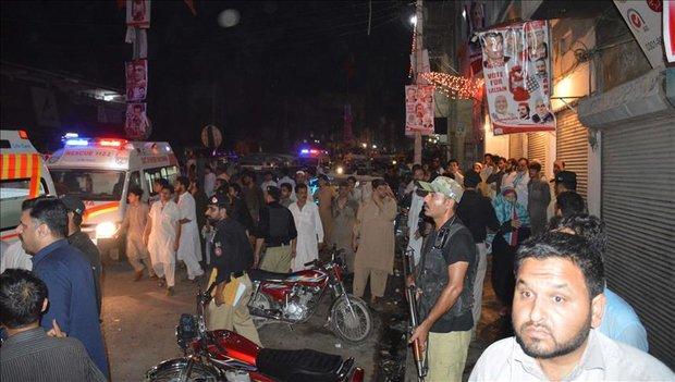 کوئٹہ میں بم دھماکے میں 16 افراد جاں بحق ، 30 زخمی
