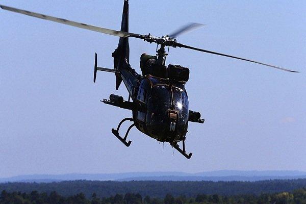 İran'da hudut birliklerine ait helikopter düştü