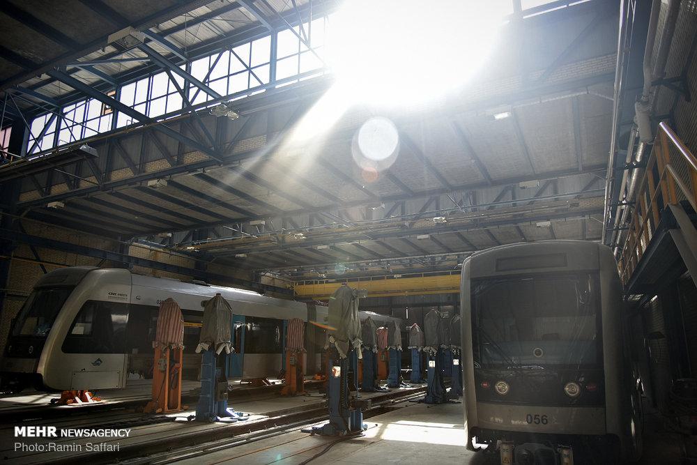 افتتاح مرکز تعمیر اساسی ناوگان خط 1 قطار شهری مشهد