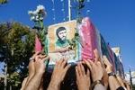 تشییع شهید تفحص شده در شاهرود . محمد علی عامریون  - کراپشده