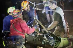 پسربچه های نجات یافته از غار در تایلند