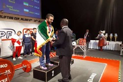 Iran's Yazdani gains silver at World University Powerlifting Cup