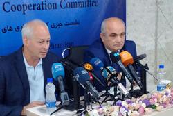 نشست خبری کمیته مشترک رسانهای ایران و روسیه