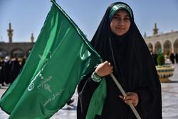 مسيرة لسيدات ايران في اليوم الوطني للعفاف والحجاب /صور