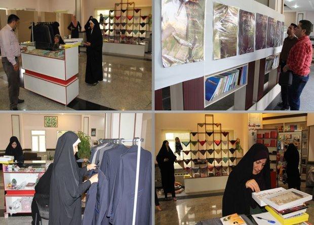 نمایشگاه حجاب و عفاف در صداوسیمای مرکز قزوین بر پا شد