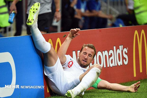 Hırvatistan-İngiltere maçından kareler