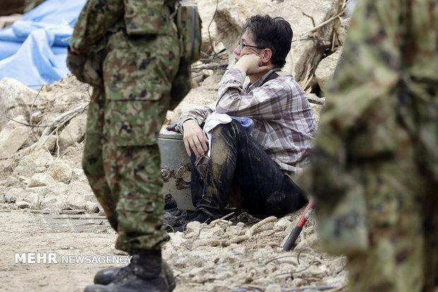 Japonya'da sel felaketi