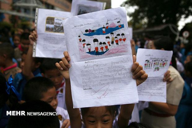 انقاذ أطفال الكهف في تايلاند بعد أسبوعين من المعاناة