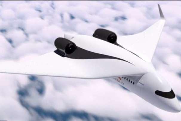 با قطار پرنده در آینده راحت سفر کنید!