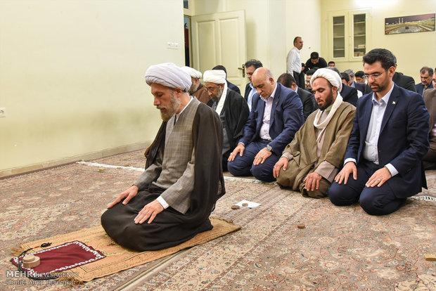 دیدار محمد جواد آذری جهرمی با نماینده ولی فقیه در فارس و امام جمعه شیراز - چهارشنبه 20-4-1397