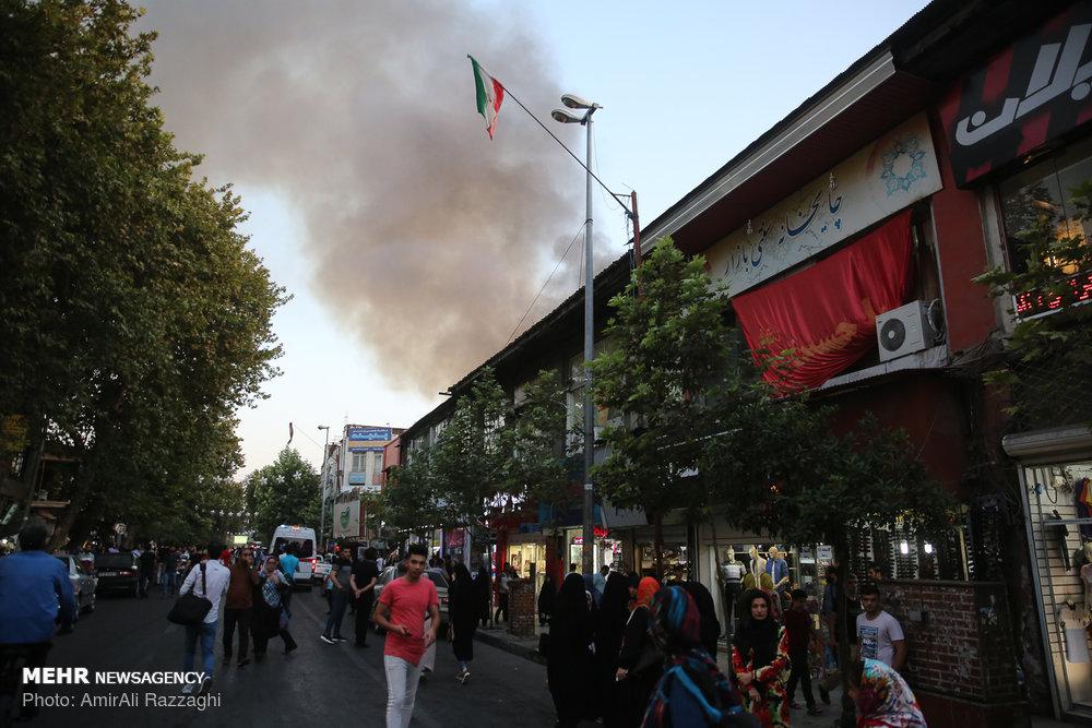 آتش سوزی در قدیمی ترین مسجد مازندران