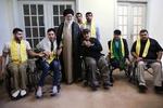 دیدار جانبازان حزب الله با رهبر انقلاب