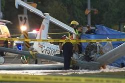 کانادا سقوط هواپیما