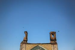 مسجد جامع ساری پس از مهار آتش