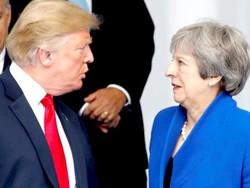 ڈونلڈ ٹرمپ کی برطانوی وزير اعظم کو پھٹکار
