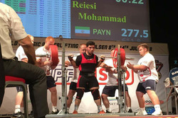 Raiesi breaks record, grabs 3 medals at World University Powerlifting Cup