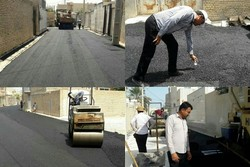 آسفالت ۱۰۰هزار متر مربع از معابر/پیشرفت۹۰درصدی سازه پل چهارم بشار