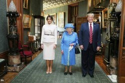 ترامپ و الیزابت