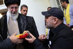 Fotoğraf: İnkılap Lideri'nin Hizbullah gazileriyle görüşmesi