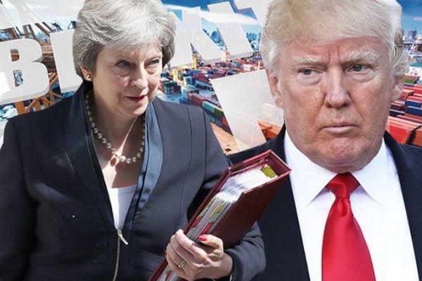 ترامپ درمورد اثرات منفی برگزیت بر روابط تجاری با آمریکا هشدار داد