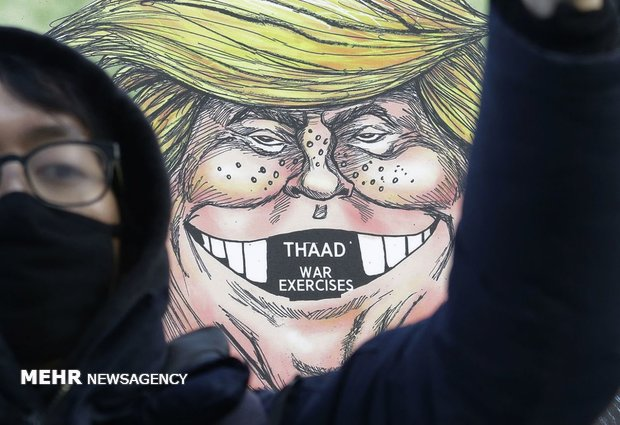 Trump cartoons from around world