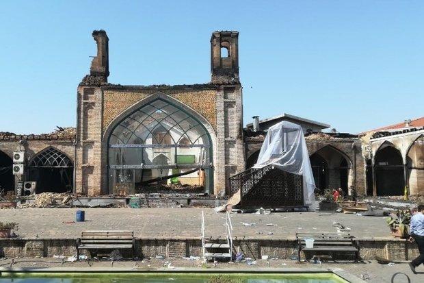 مرمت ناتمام مسجد جامع ساری/ بازگشایی مورد تایید نیست