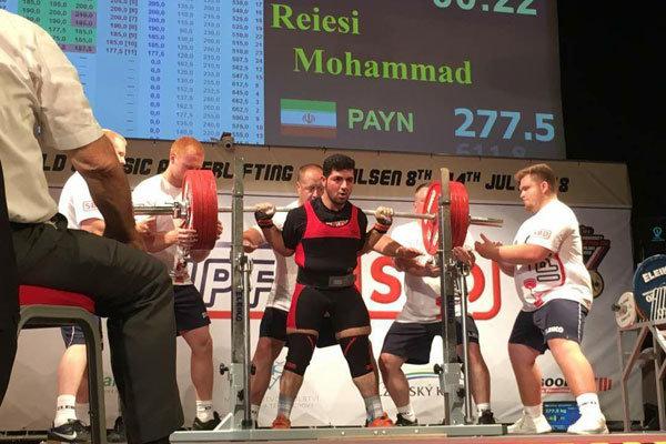 مسابقات پاورلیفتینگ دانشجویان جهان - چک ایرانیها با کسب دو مدال طلا رکورد جهان را شکستند