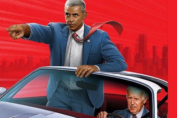 اوباما و بایدن جای شرلوک هولمز و دکتر واتسون را میگیرند