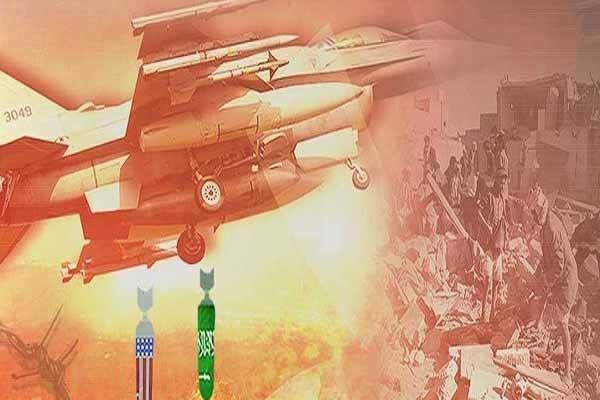 حمله ائتلاف سعودی به پایگاه هوایی حوثیها در نزدیکی فرودگاه صنعا