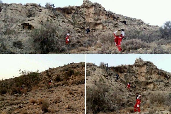 جستجوی هوایی با بالگرد برای یافتن کوهنورد اهرمی
