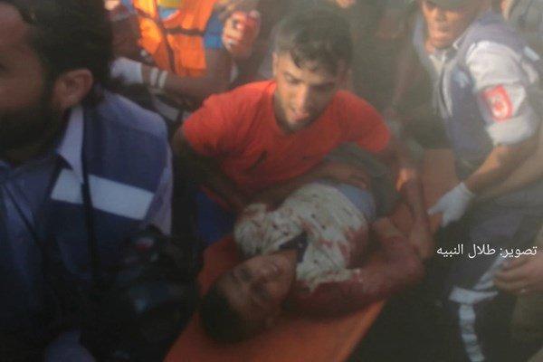 """فلسطين... شهيد وإصابات برصاص الاحتلال في جمعة """"الوفاء للخان الأحمر""""شرق غزة"""