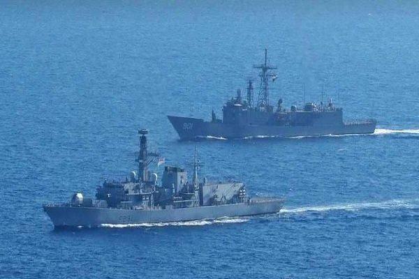 بحر ہند کے شمال میں ایران ، روس اور چین کی مشترکہ بحری مشقوں کا آغاز